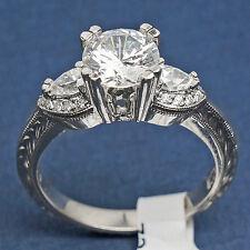 HT2358 Tacori Diamond Platinum Engagement Ring