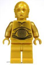 LEGO Star Wars C3PO Minifigure Dark Pearl Gold Minifig C-3PO Original droid