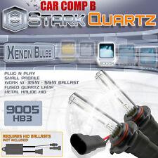 35W 55W Xenon HID Bulbs High Beam 6000K Ice White - 9005 HB3 Replacement x2 (C)