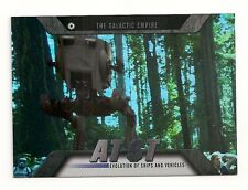 2016 TOPPS STAR WARS EVOLUTION SHIPS AND VEHICLES #EV-18 AT-ST