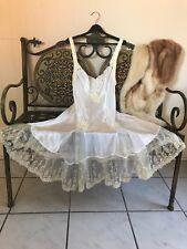 GYPSY, FAIRY RENAISSANCE SLIP DRESS! FULL OF LACE AND ROMANCE....M