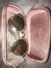 miu miu sunglasses women