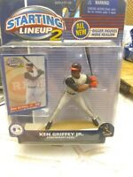 KEN GRIFFEY JR CINCINNATI REDS 2000 STARTING LINEUP 2 BASEBALL BATTING FIGURE