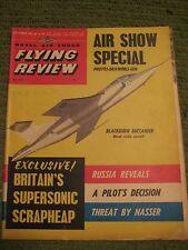 Original Vintage September 1961 ROYAL AIR FORCE FLYING REVIEW Magazine 217