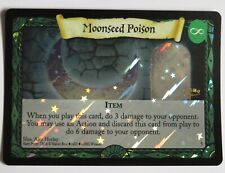 Harry Potter Moonseed Poison Holo Foil No 5 Promo Trading Card Excellent Wizards