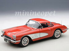AUTOart 71148 1958 CHEVROLET CORVETTE 1/18 DIECAST MODEL CAR SIGNET RED