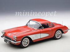 AUTOart 71148 1958 CHEVROLET CORVETTE 1/18 DIECAST MODEL CAR SIGNET RED