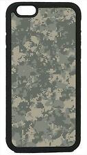 Camouflage Digital Pattern Camo For Apple iPhone 4 4s 5 5s 5c 6 6 Plus Case