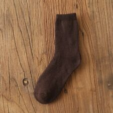 Winter Warm Thick Socks For Men Soft Velvet Socls Pure Color Cotton Socks