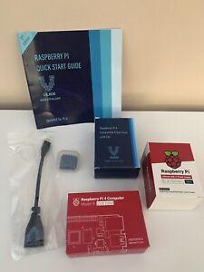 Raspberry Pi 4 Model B starter kit - 2gb Ram, Case, Power, Heat sink, Fan Vilros