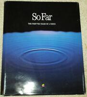 1987 So Far: Apple 10-Year Photo History - Steve Jobs Lisa Macintosh Apple 1 II