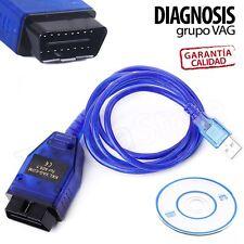 OBD2 Cable USB de diagnosis escaner VAG COM 409.1 KKL para VW Audi Seat Skoda