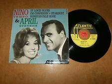 NINO TEMPO & APRIL STEVENS  - EP FRENCH ATLANTIC 212080 - LISTEN - ROCK POPCORN