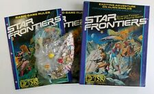 TSR Star Frontiers Box Set Science Fiction Role Playing Game 7007 Complete Used
