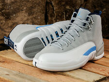 Nike Air Jordan XII Retro 12 Wolf Grey 2016 UNC Size 10 Blue White 130690-007