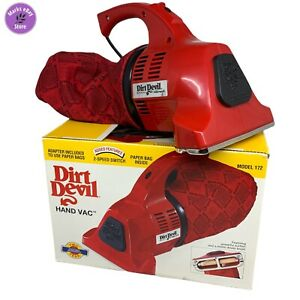 Dirt Devil Plus 172 2-speed Gently Used Handheld Vacuum Cleaner New Bag