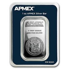 1 oz Silver Bar - APMEX (In TEP Package) - SKU #82241