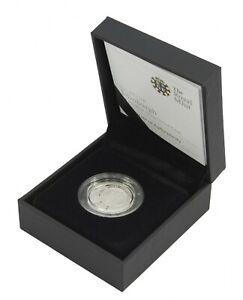 2011 Edinburgh Capital Cities £1 Silver Piedfort Proof Inc Case and COA