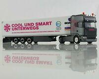 Herpa 942881 Scania R 13 TL KüKo-Sz Trucker-Babe Christina S. Asphalt Cowboys
