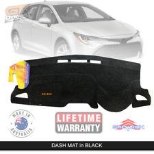 Dash Mat for Toyota Corolla Hatch ZWE211R Ascent SX NOHUD 6/2018-19 DM1532 BLACK