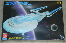 Star Trek U.S.S. Excelsior StarShip Plastic Model Kit AMT/ERTL 1994, SEALED MIB
