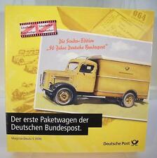 Brekina 1/87 Der erste Paketwagen der DBP Magirus Deutz S 3500 OVP #296