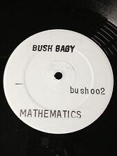 Bush Baby Mathematics RARE 1992 OLDSKOOL HARDCORE