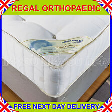 NEW 3ft Single DELUXE BEDS 10 INCH DEEP REGAL FIRM ORTHOPAEDIC MATTRESS