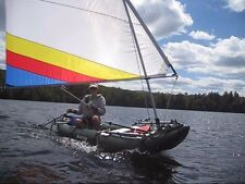 55 SF Sail Kit for Sea Eagle, Saturn Inflatable Kayaks (Explorer, Fast Track...)