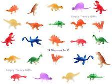 24 Dinosaurs Figures Kids Play Set Toy Game Animals Jurassic T-Rex TRex Plastic