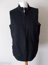Women's Black Brown Cream Beige Reversible Sleeveless Jacket By Dash  Size 14