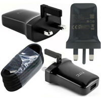 HTC TC P900-UK MAINS 1.5A CHARGER TRAVEL ADAPTER & TYPE-C USB DATA CABLE LEAD