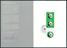 GERMANY MINISTRY CARD 2000 FUßBALL FOOTBALL FUTBOL SOCCER z2265
