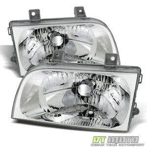 For 1998-2002 Sportage Headlights Headlamps Replacement 98-02 Pair Left+Right