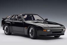 Porsche 924 carrera gt 1980 negro Black AA Autoart 78001 1:18