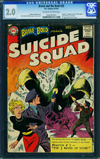 Brave And The Bold #25 cgc 2.0-ow/w-First Suicide Squad-DC 1959 0263391001