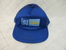 Riser Toronto Snapback Trucker Hat Blue Patch Logo