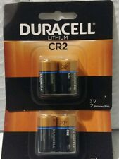 4 count Duracell 3 V CR2 Ultra Lithium Batteries