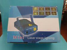Mini Laser Stage Lighting Unit 🎁 Remote Strobe Party Xmas 🎁 FAST POST