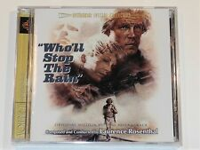 Laurence Rosenthal WHO'LL STOP THE RAIN Nick Nolte Soundtrack Intrada CD New
