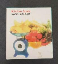 Retro Style Kitchen Scales Orange New in Box Plastic Easy To Use Grams Kilo