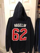 Carl Hagelin New York Rangers Reebok Hoodie Sweatshirt Size XXL