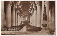 Gloucestershire; Tewkesbury Abbey, The Nave, RP PPC, Unposted, By Photochrom