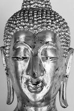 Impresionante Antiguo Buda Estatua De Lona Lona Pared Arte religioso espiritual #12