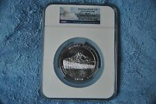 2010, NGC, America the Beautiful 5 ounce, Mount Hood/Yellowstone Labeling Error