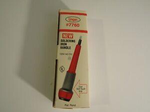 Ungar #7760 Soldering Iron Handle, new in box
