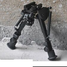 APE (Airsoft) Bipied rétractable Type Harris 143mm-219mm pour rail Picatiny 20mm