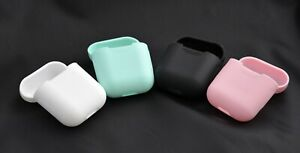 Silicone Case for Apple Airpods Charger Protective Cover Skin Headphones Cases