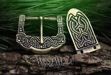 Viking Belt Buckle Set - Norse/Norway/Celtic/Pagan/Knotted/Art/Clothing/Hardware