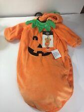 Hyde & Eek Boutique Infant Pumpkin Bunting Halloween Costume With Hood 0-6 Month